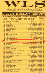 WLS Chart Jan 17, 1964