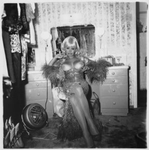 Diane Arbus' photo of Carol Doda